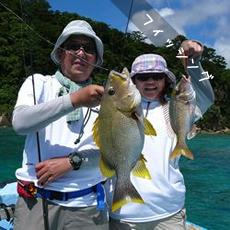 西表島フィッシング釣りチャーターガイドツアー