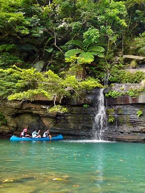 西表島でカヌーをレンタルしてカヌー遊覧