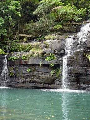 西表島トレッキングで行く水落の滝
